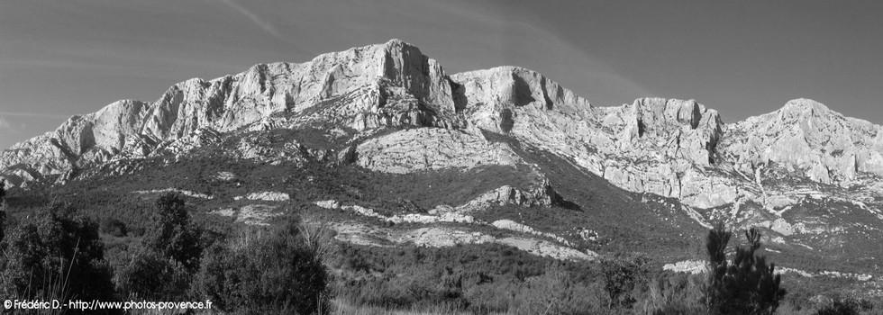 Pays d'Aix-en-Provence , montagne Sainte Victoire